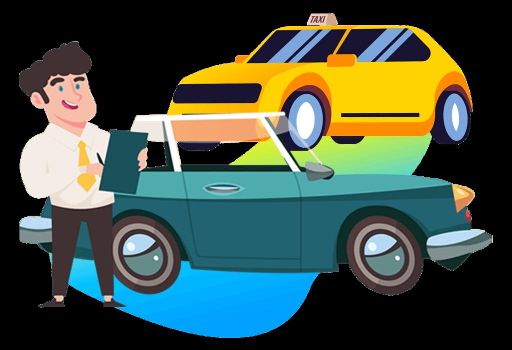سیتی ترکر - رانندگان، راننده، ناوگان حمل و نقل، تاکسی سرویس