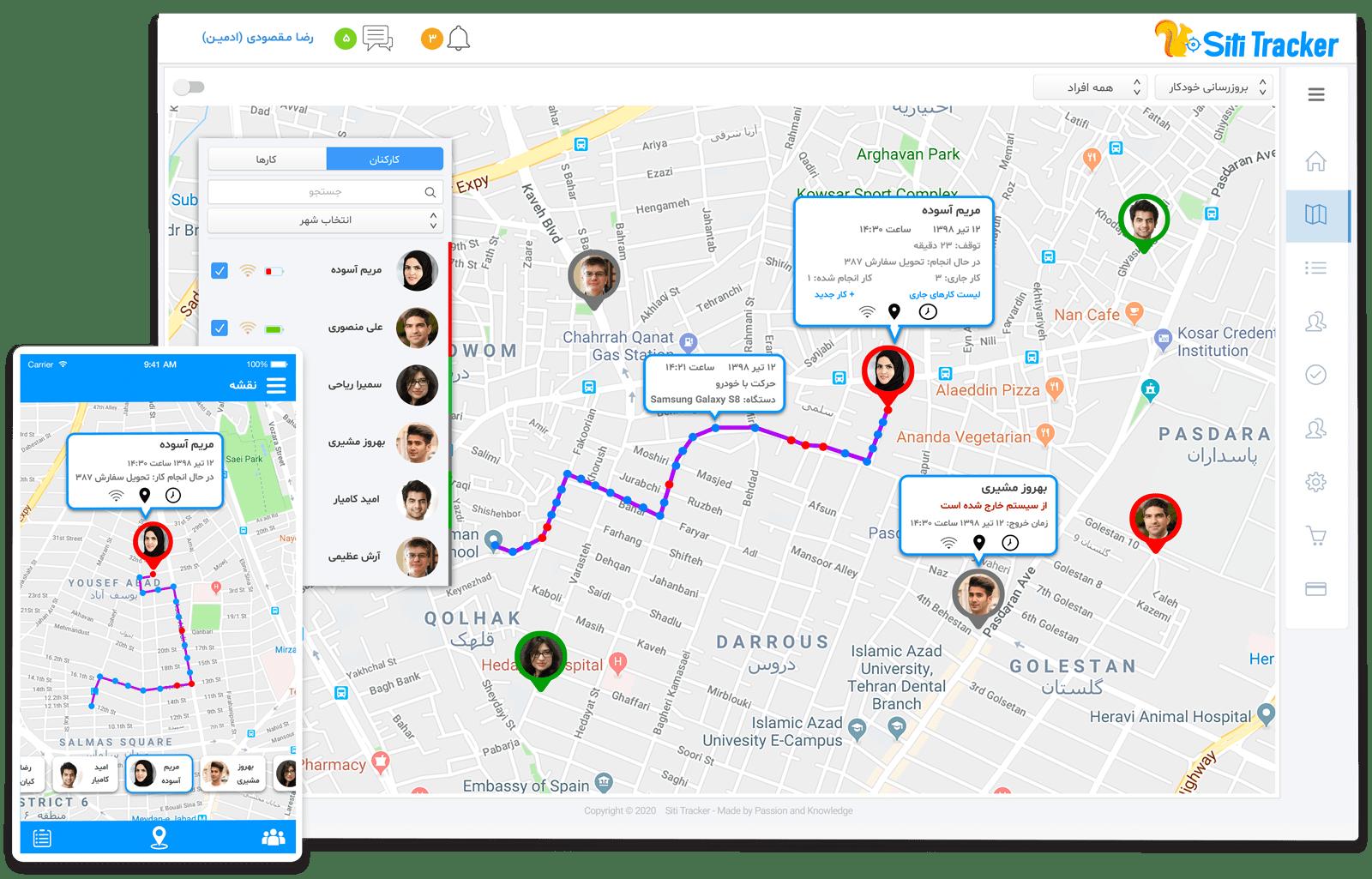 Siti Tracker GPS Monitoring